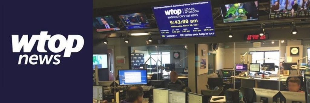 The WTOP News Room - One of many facilities that OLS worked to prepare for end of lease.
